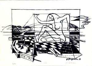 1988, Gefangen in Berlin, Siebdruck