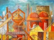 Eisenhütte, Öl