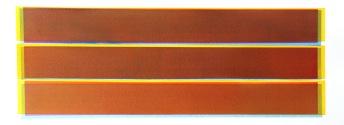 Tusche auf BŸtten, 25,5 x 65,5 cm, 2015